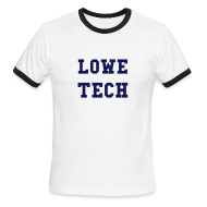 T-Shirts ~ Men's Ringer T-Shirt by American Apparel ~ Lowe Tech College