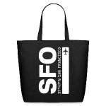 San Francisco Airport Code SFO  Tote Bag