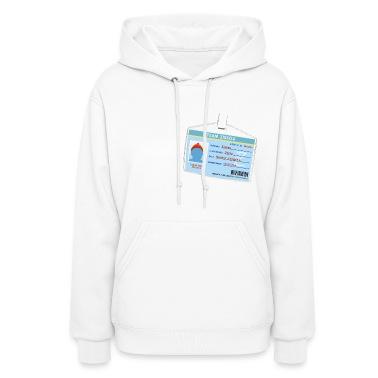 White Team Zissou ID Hooded Sweatshirts