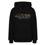 Hoodies ~ Women's Hooded Sweatshirt ~ Restoration Cloud