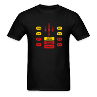 T-Shirts ~ Men's Standard Weight T-Shirt ~ Knight Rider: KITT [SPECIAL OFFER]