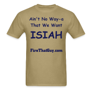 T-Shirts ~ Men's Standard Weight T-Shirt ~ NO WAY-A ISIAH THOMAS