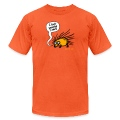 Orange Angry Hedgehog T-Shirts