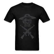 T-Shirts ~ Men's Standard Weight T-Shirt ~ Somali Pirates (Guy's Black)