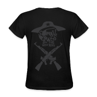 Women's T-Shirts ~ Women's Standard Weight T-Shirt ~ Somali Pirates (Girl's Black)