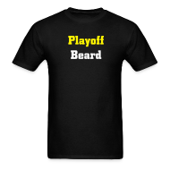 T-Shirts ~ Men's T-Shirt ~ Playoff Beard - Men's Standard T-shirt