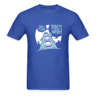 T-Shirts ~ Men's Standard Weight T-Shirt ~ Day of the Tentacle (Take on the World)