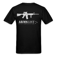 T-Shirts ~ Men's Standard Weight T-Shirt ~ ARMSLIST M4 SOPMOD