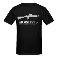T-Shirts ~ Men's Standard Weight T-Shirt ~ ARMSLIST M1A SOCOM