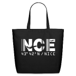 Nice France Airport Code NCE Tote Bag Black