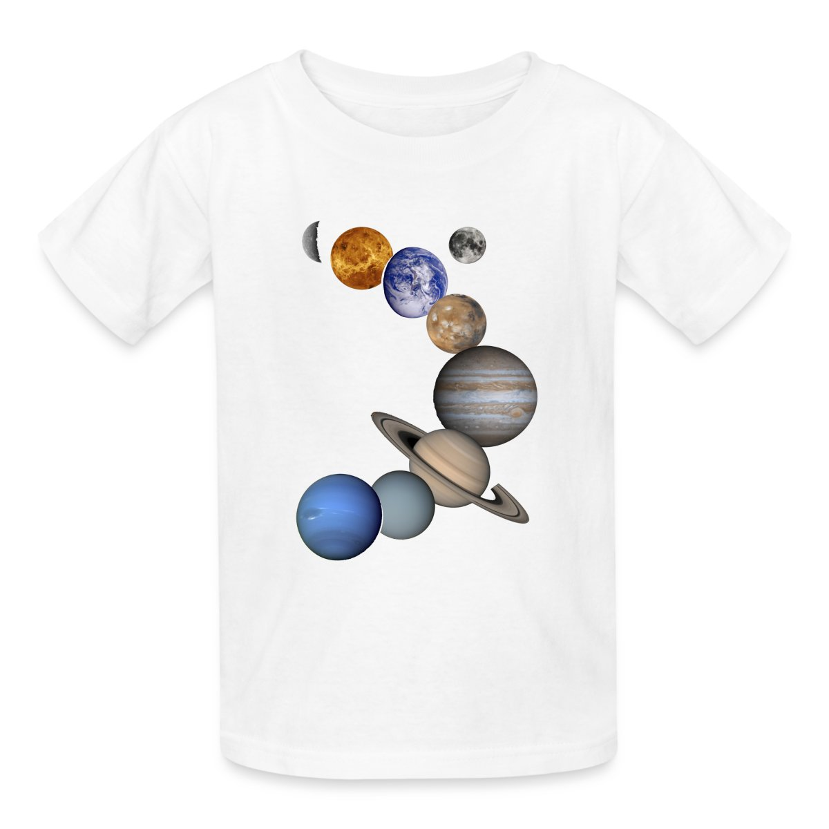 Solar System Planets Kids' T-Shirt by Spreadshirt™ | eBay
