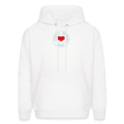 White happily married man (2c) Hoodies
