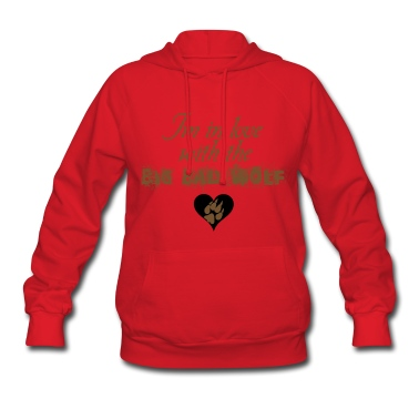 In love with the Big Bad Wolf Jacob Black New moon Hoodie