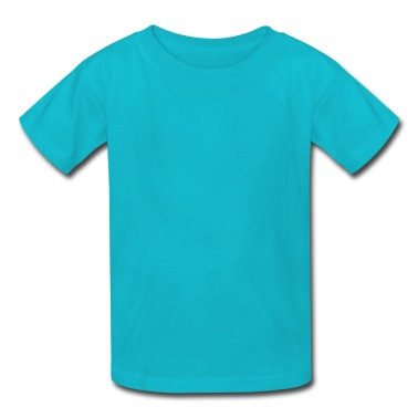 a little bird as a silhouette Kids' Shirts