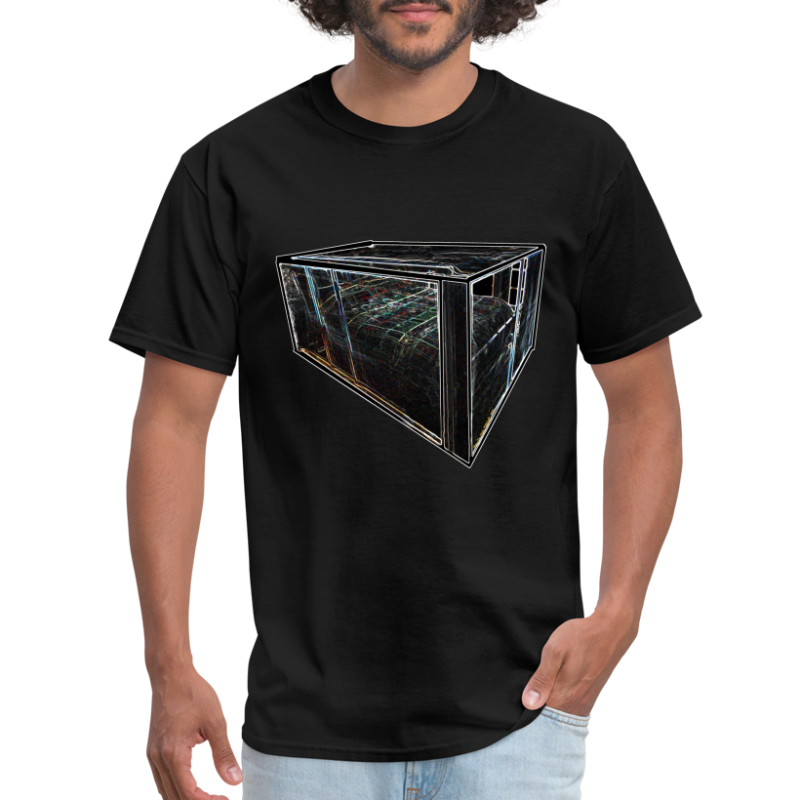 Faraday Cage (front and back images) - Men's T-Shirt