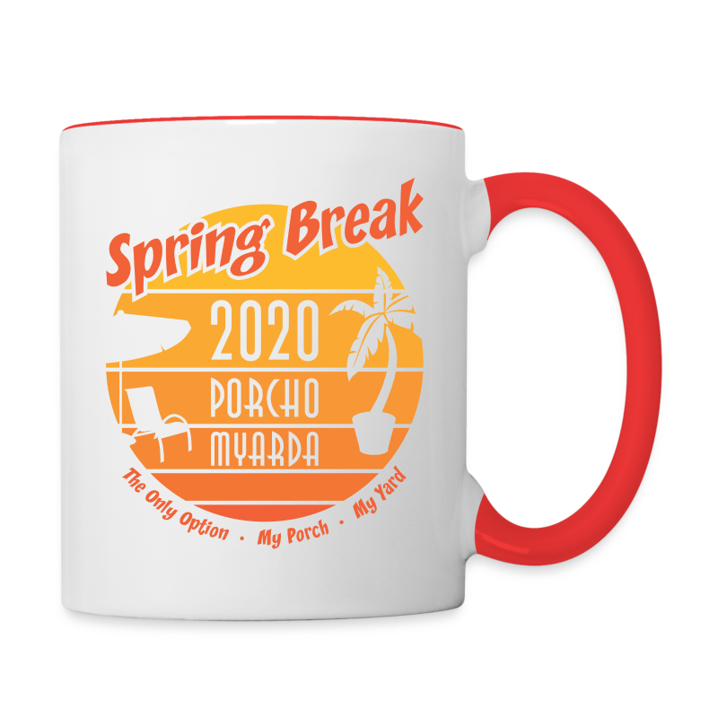 Spring Break 2020 Porcho Myarda - Contrast Coffee Mug