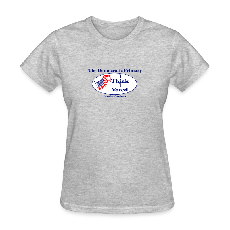 """I Think I Voted"" - Women's T-Shirt"