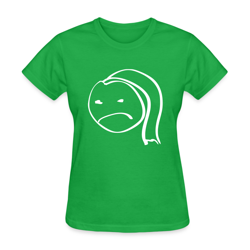 Girl Grumpy - Women's T-Shirt
