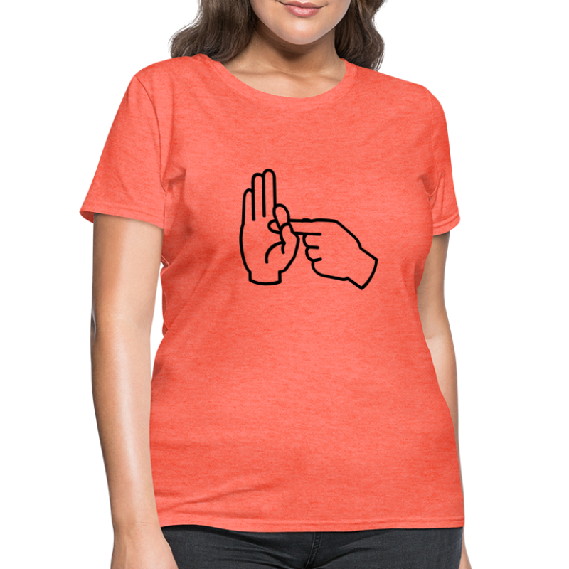 Sex Hand Gesture - Women's T-Shirt