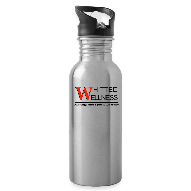 Whitted Wellness Logo - Water Bottle
