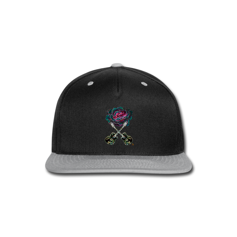 Black Rose - Snap-back Baseball Cap