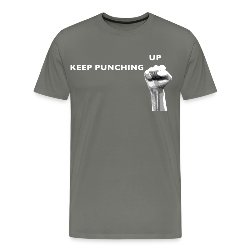 Keep Punching Up - Men's Premium T-Shirt