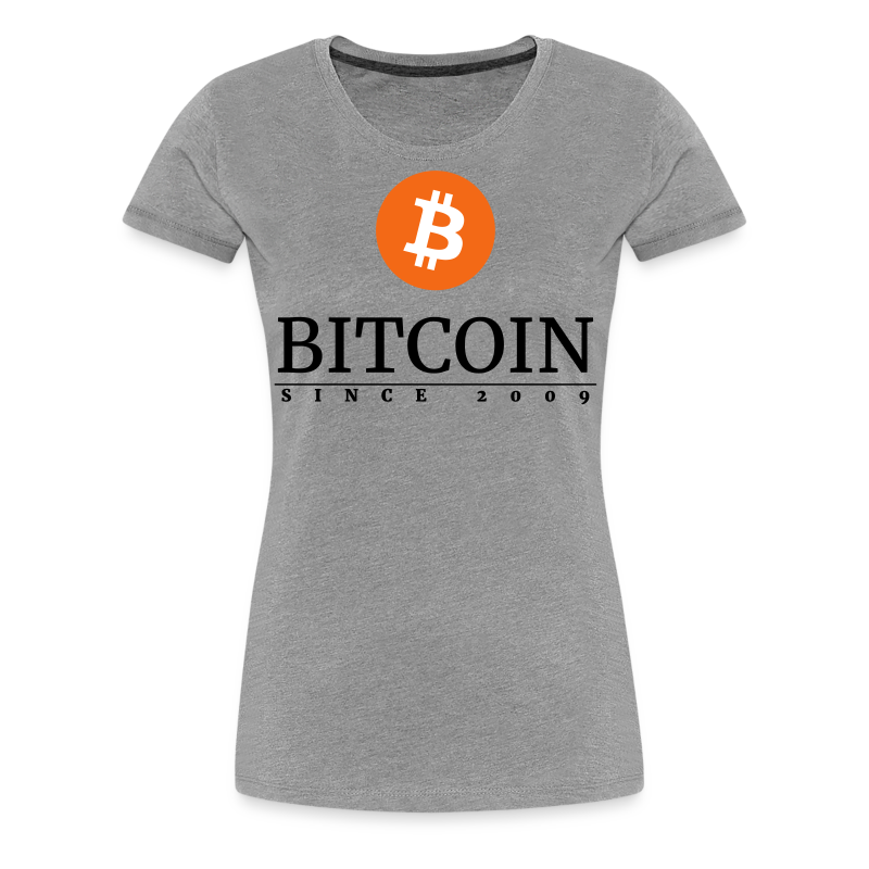 Bitcoin since 2009 - Women's Premium T-Shirt