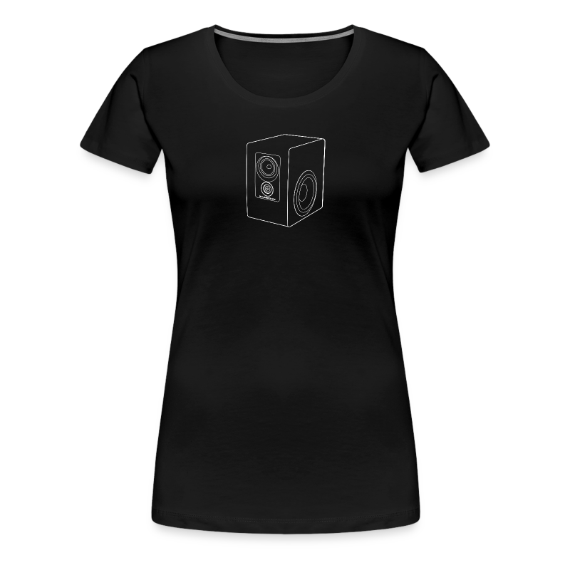 Footprint01 - Women's Premium T-Shirt