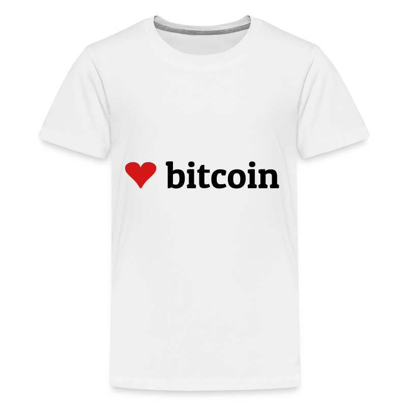 love bitcoin - Kids' Premium T-Shirt