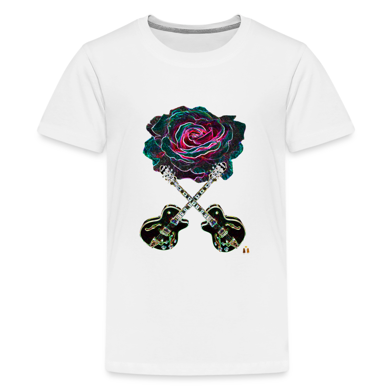 Black Rose - Kids' Premium T-Shirt