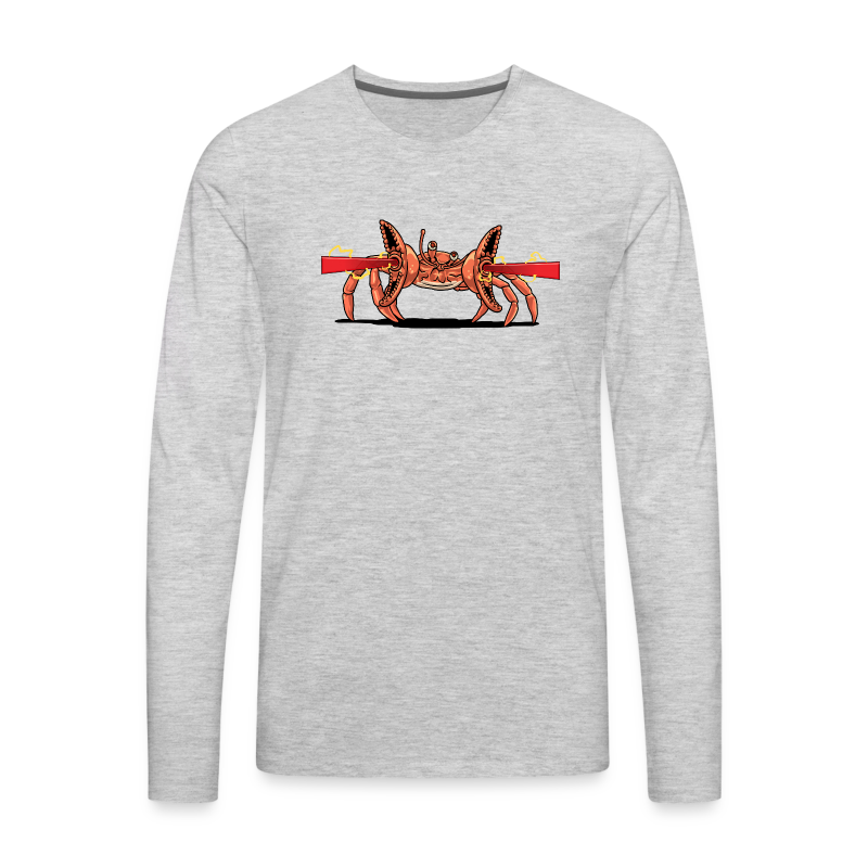 Mercstar Crab People - Men's Premium Long Sleeve T-Shirt