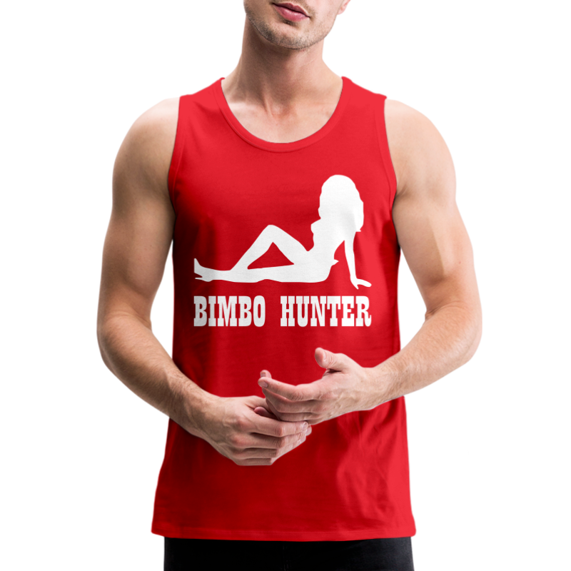 Bimbo Hunter - Men's Premium Tank