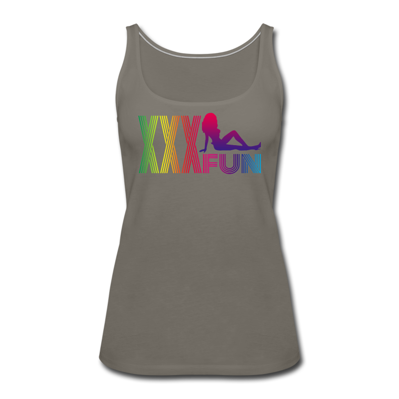 XXX Fun - Women's Premium Tank Top