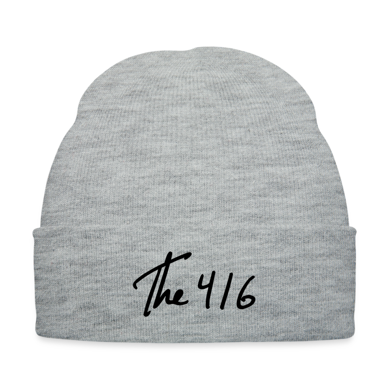 The 416 - Knit Cap with Cuff Print
