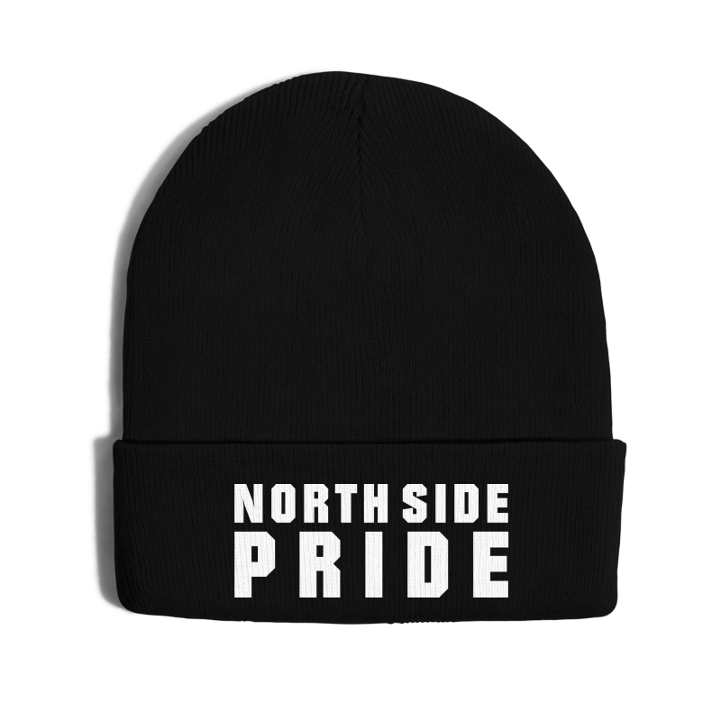 North Side Pride - Knit Cap with Cuff Print
