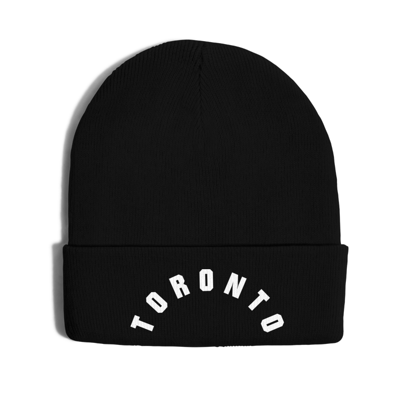 Toronto - Knit Cap with Cuff Print