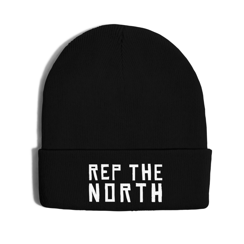 Rep The North - Knit Cap with Cuff Print