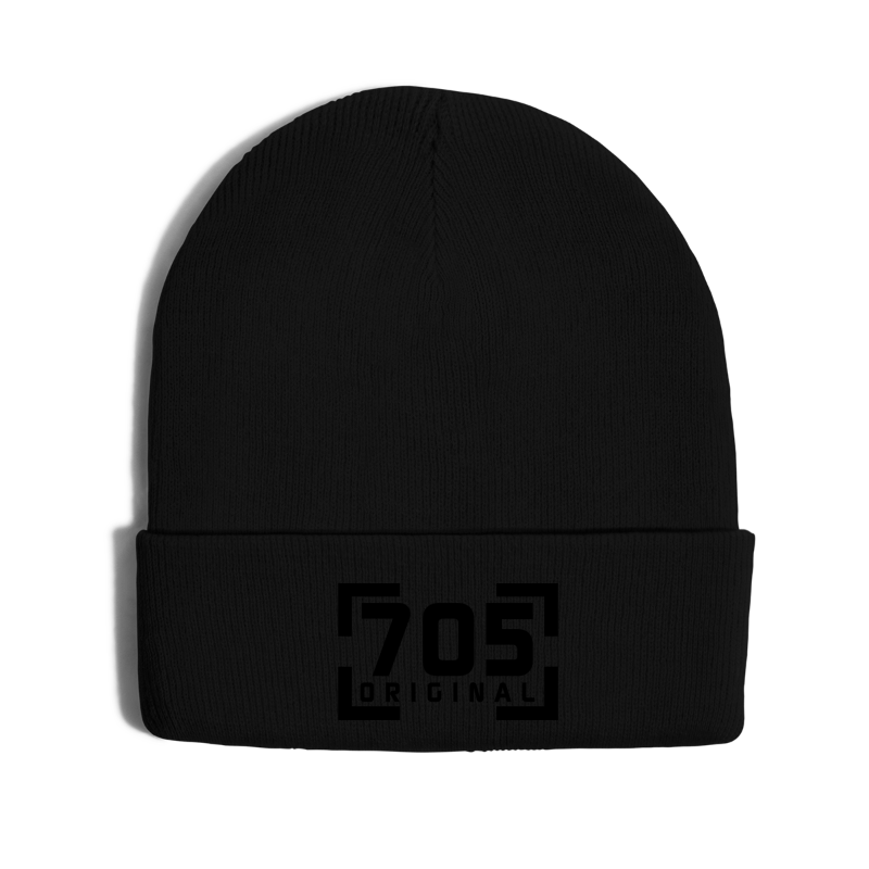705 Original - Knit Cap with Cuff Print