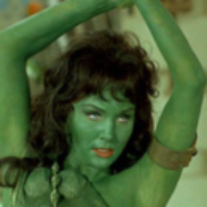 GreenAlienChick